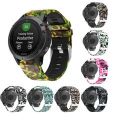 garminfenix6, garminfenix5, siliconewatchband, garminfenix6band