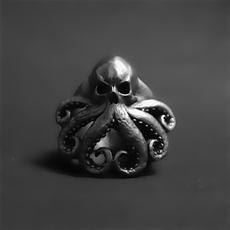 Goth, Stainless Steel, octopusring, Men