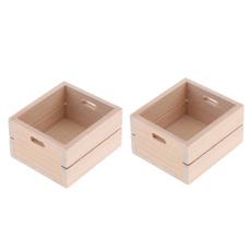 Box, miniaturestoragebox, Kitchen & Dining, Dollhouse