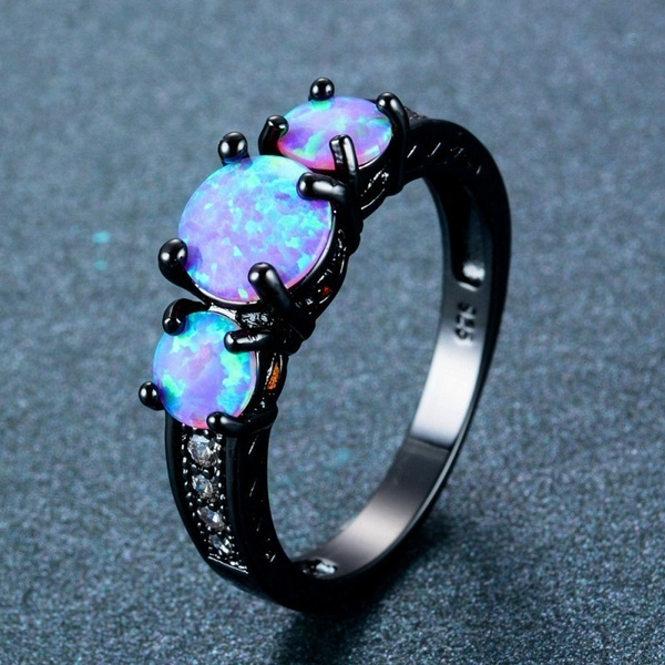 fireopalring, Blues, Womens Accessories, Fashion