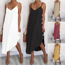 Summer, Plus Size, Necks, ladiesskirt