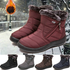 ankle boots, Outdoor, Cotton, Winter