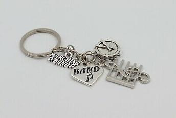 Key Chain, Jewelry, Gifts, Music