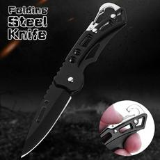 Steel, portableknife, outdoorknife, Key Chain