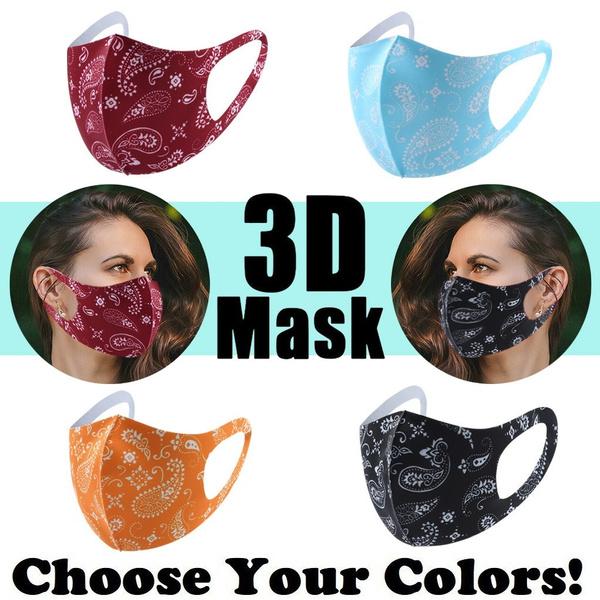 maskface, Breathable, printedmask, protectivemask