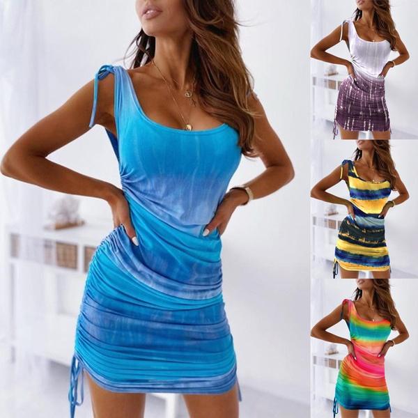 Mini, dressesforwomen, Summer, plus size dress