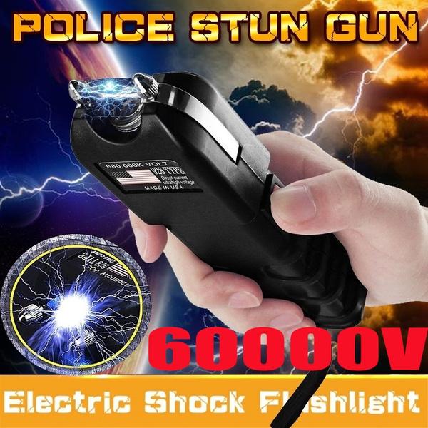 Flashlight, stunguntorch, electroshockstick, led