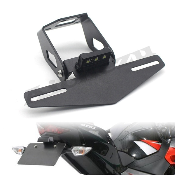 motorcycleaccessorie, Kawasaki, reartailfenderplate, ledlightbracket