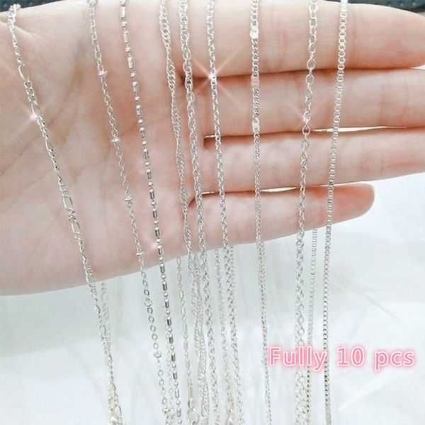 Fashion, Jewelry, Fashionable, 925 silver necklace