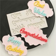 happybirthday, polymer, cakesiliconemold, Comida