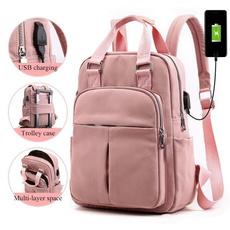Laptop Backpack, pink, School, backpacksforgirl