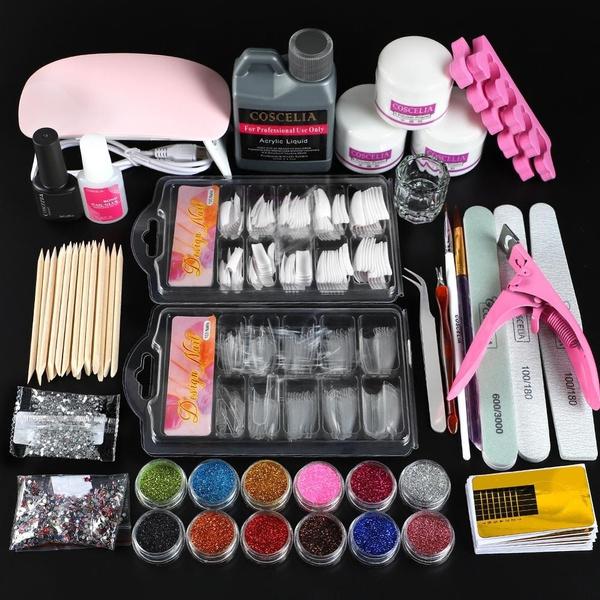 Glitter, art, Beauty, Nail Polish