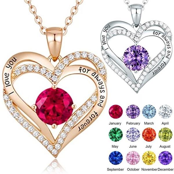 Sterling, Heart, DIAMOND, 925 sterling silver