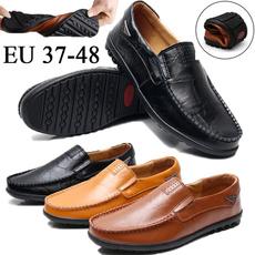 Men, leather shoes, lazyshoe, leathershoesformen