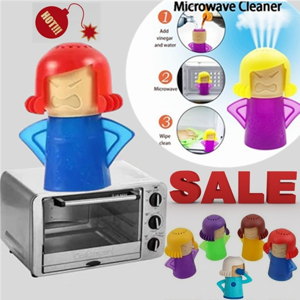 Cleaner, Kitchen & Dining, microwavesteamcleaner, kitchengadget