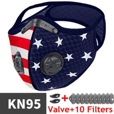 antifogmask, Cycling, dualfiltermask, antifog