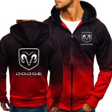 Dodge, Fleece, cardigan, gradient