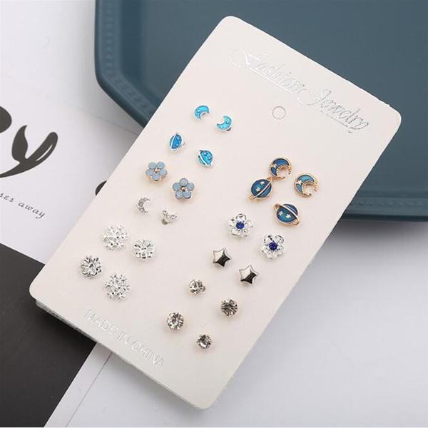 earrings12set, Jewelry, Stud Earring, studearringsset