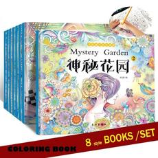 coloringbook, Fun, Book, art