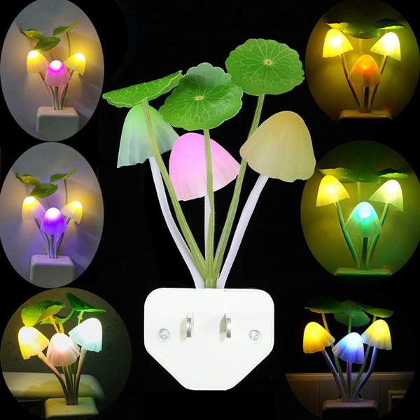 nightlightwithmotionsensor, Mushroom, lights, walllamp