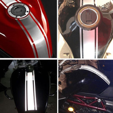 motorcycleaccessorie, Tank, Stripes, Stickers