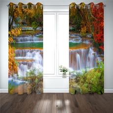 bedroomcurtain, foresttreewindowcurtain, Decor, Home & Kitchen