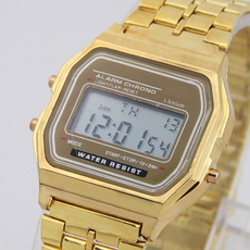 LED Watch, Steel, Fashion, Casual Watches