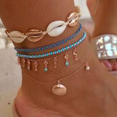Chain, handmadeanklet, Evil, boho