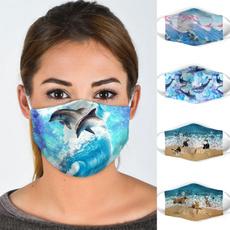 Algodón, mouthmask, mouthmuffle, animal print