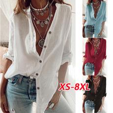 Loose, long sleeved shirt, Long Sleeve, Plus size top