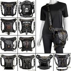 Fashion, Waist, vintage bag, leather