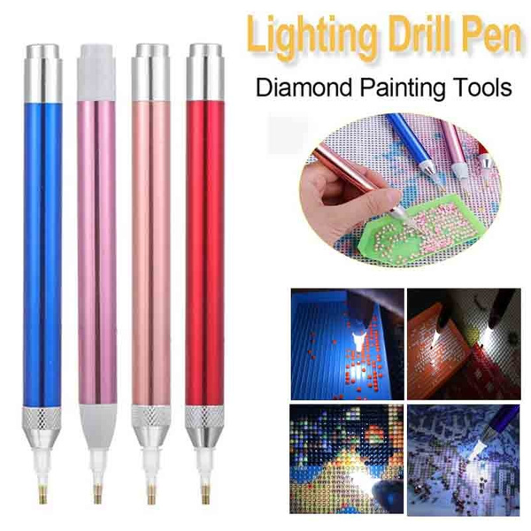 Diamond Painting Tool Point Drill Pen Lighting New Diamond Pens 5D Painting New