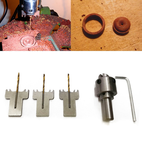 Multifunction Ring Drill Bit Wooden Thick Rings Maker High Speed Steel Wood uk