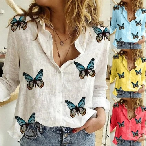 butterfly, Plus Size, Tops & T-Shirts, Long Sleeve