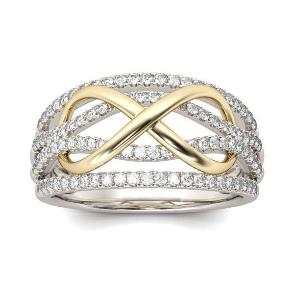Infinity, wedding ring, infinityring, Diamond Ring