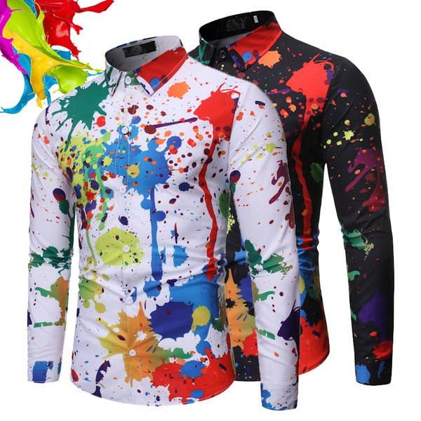 splashshirt, blouse, Plus Size, Shirt