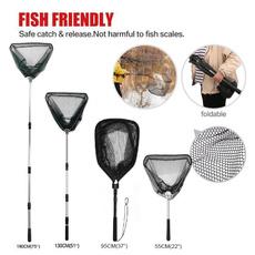 telescopicfishingnet, folding, Aluminum, fishingaccessorie