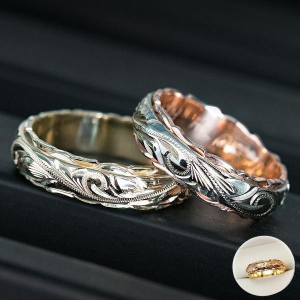 Sterling, Fashion, Hawaiian, Sterling Silver Ring