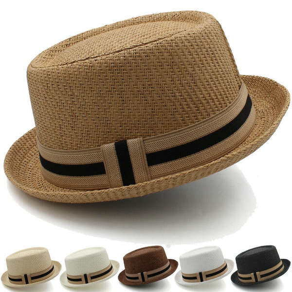 strawporkpiehat, Beach hat, unisex, sailorhat