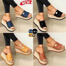 wedge, Flip Flops, Fashion, Women Sandals