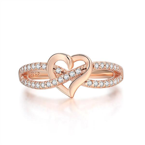 18 k, Heart, DIAMOND, Infinity