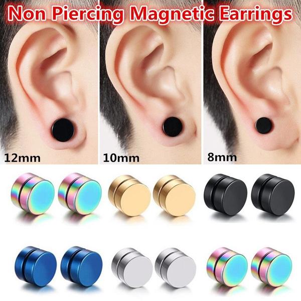 Steel, Punk jewelry, Jewelry, Stud Earring
