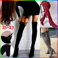 Knee High Boots, Plus Size, heelsforwomen, long boots