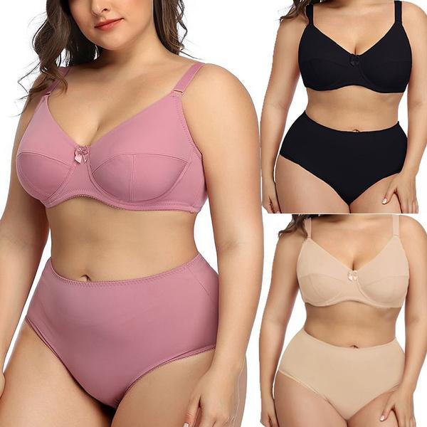 Plus Size, brabriefset, bra set, underwearsetforwomen
