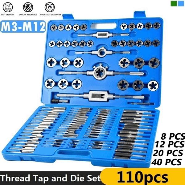 threaddie, tapanddieset, tappingscrew, metrictapdieset