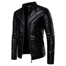 Fashion, Winter, leather, Coat