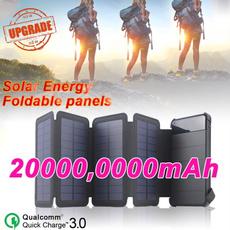 Iphone power bank, foldablesolarpanel, solarlightsoutdoor, Waterproof
