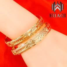 Charm Bracelet, Stainless Steel, Jewelry, gold