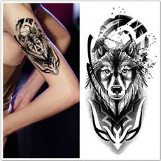 Blues, tattoo, art, Waterproof