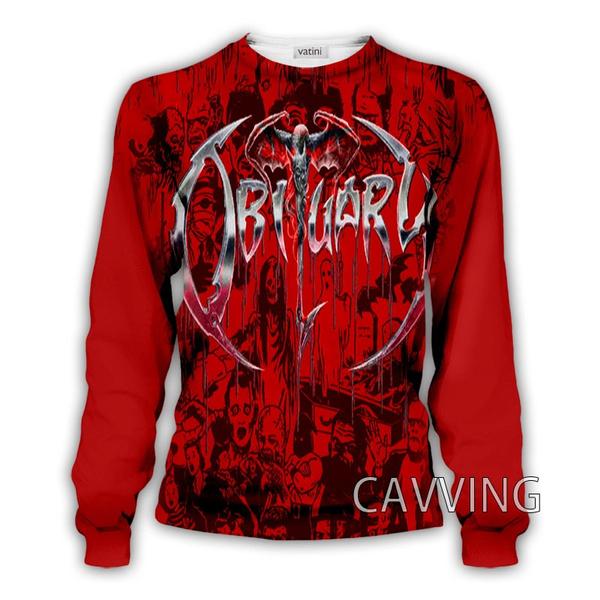 Crewneck Sweatshirt, Fashion, printed, crewneck3dprinted